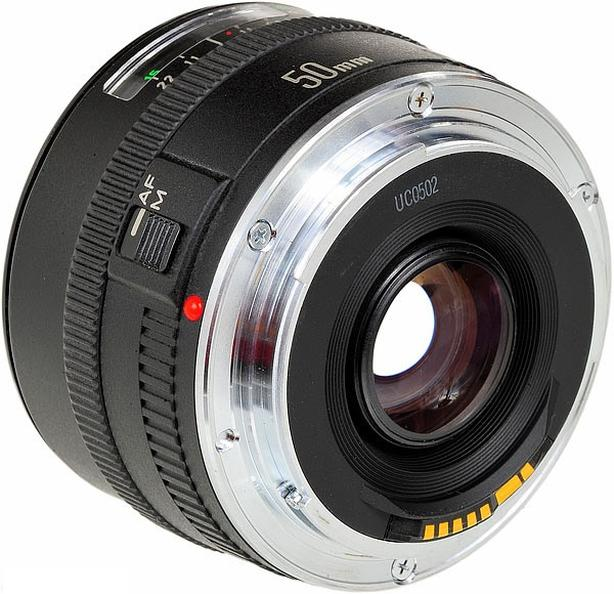 Canon EF 50mm f1.8 mark I with metal mount