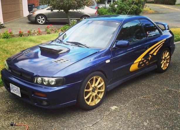 Subaru Impreza 2.5 Rs >> Subaru Impreza Rs Turbo Majk