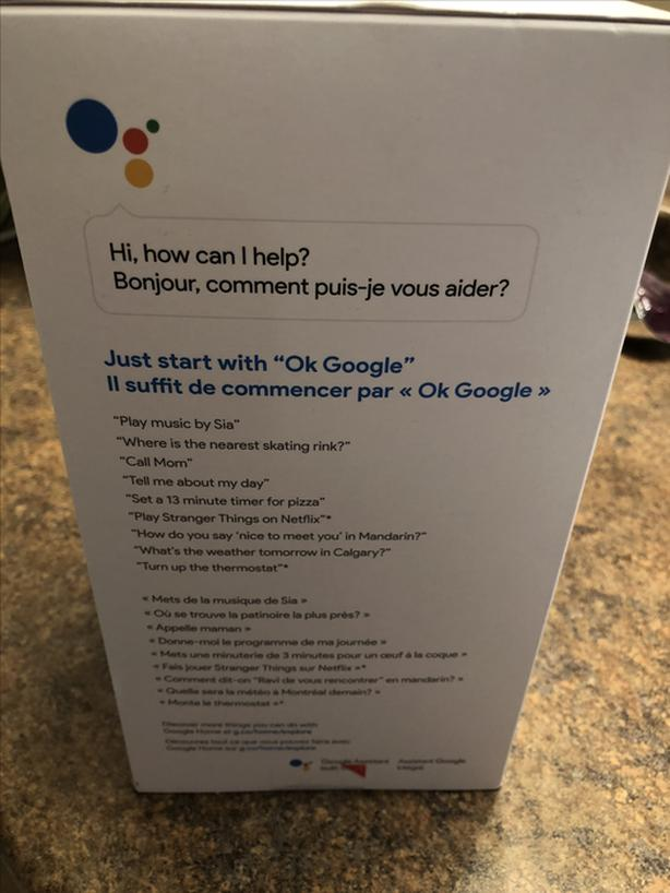 Brand new never opened Google Home Lake Cowichan, Cowichan