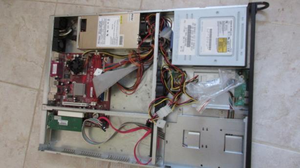 Quantity Antec 1RU server case with PSU