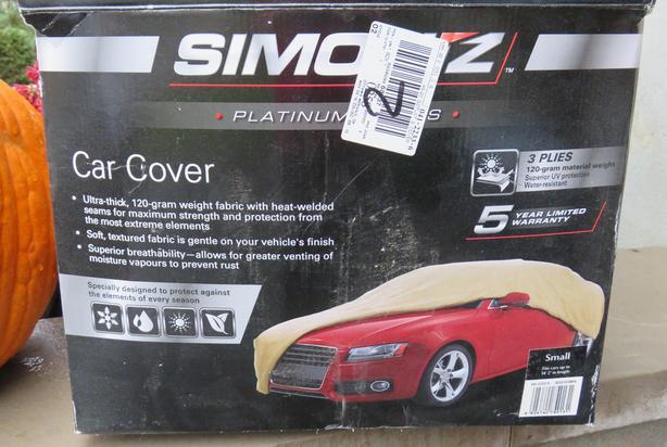 Simoniz Platinum Protection Car Cover