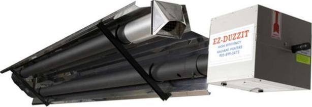 Natural Gas Shop Heater >> New Easy Radiant Work Ez Duzzit 40000btu Garage Shop Heater