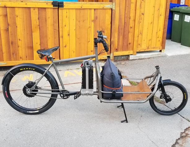 Custom Electric Cargo Bike for Sale