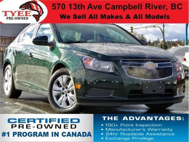 2014 Chevrolet Cruze LT Bluetooth 5-Star Safety