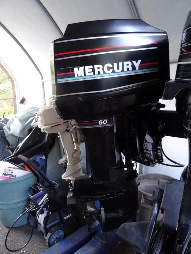  Log In needed $1,500 · MERCURY 60 HP OUTBOARD (2 stroke oil injected)  POWER TILT