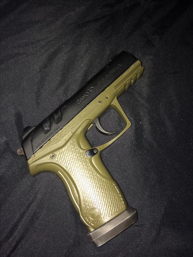 GAMO BLOWBACK .177 cal pelllet pistol