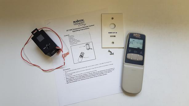 Fireplace Remote Control with Timer