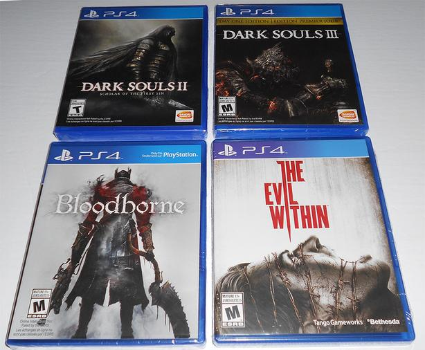 12 PS4 Games - BRAND NEW - Various Prices