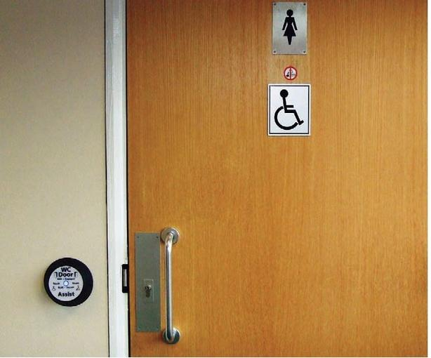 Automatic Handicap Washroom Doors Operator