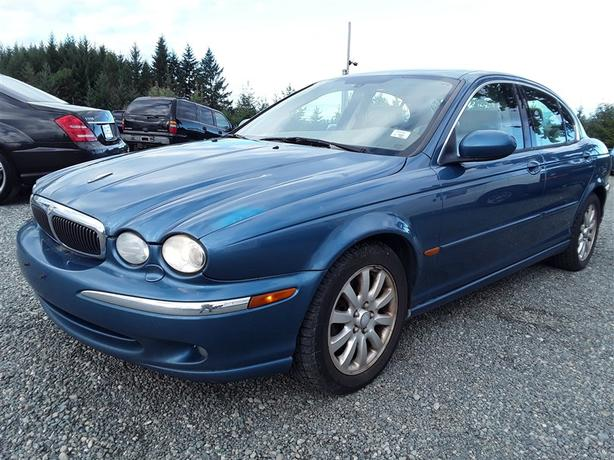 2002 Jaguar X-Type, loaded unit selling saturday both online and onsite!