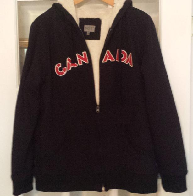 Women's Canada Sweatshirt jacket