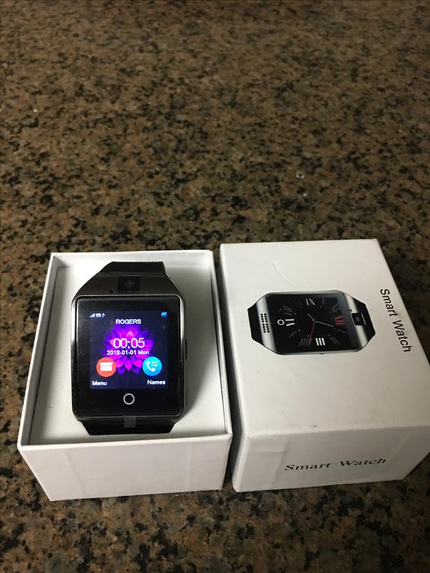 $50 · Smart Watch with SIM card slot and sd card slot