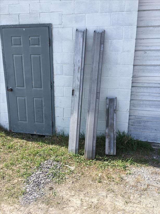 steel door frames used and some unused