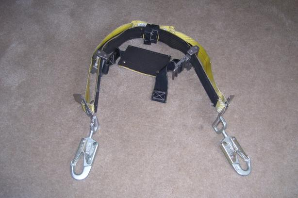 Wood Pole/Tree Climbing Harness