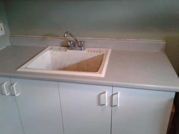 Counter Top & Laundry Sink Combo