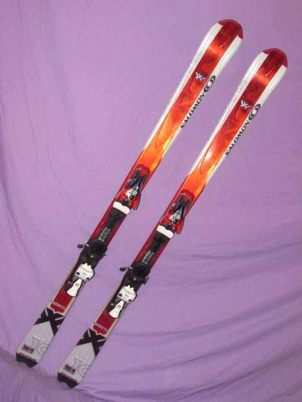 Salomon X-Wing Skis and Boots