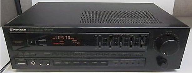 PIONEER VINTAGE 140 WATT RECEIVER SX-251R + PHONO INPUT GUARANTEED