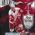 STEVE YZERMAN PLAQUE - LAMINATED AND MOUNTED – RARE PHOTO