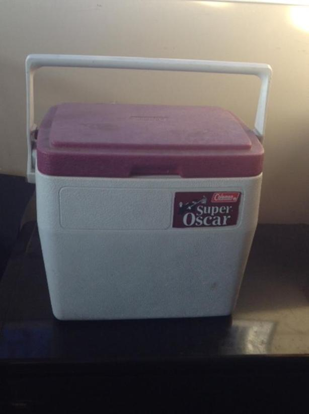 Mid Sized Coleman Super Oscar cooler