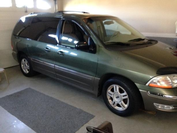 2002 ford windstar sel fully loaded make an offer outside victoria victoria mobile usedvictoria com