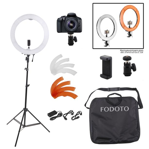 18 inch LED Diva Ring Light Kit / FREE SHIPPING AVAIL / GTAPhotoStudio . com