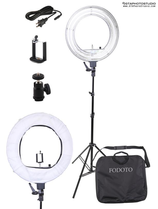 18 inch Fluorescent Diva Ring Light Kit / BRAND NEW / GTAPhotoStudio . com