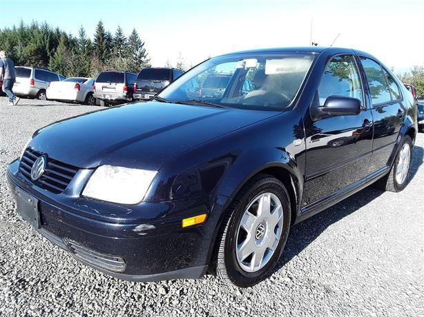 2000 VW Jetta  GLS loaded interior! selling saturday online and onsite!