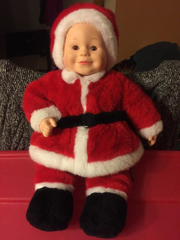 Anne Geddes Christmas Doll