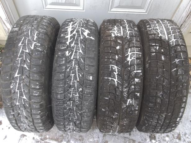 New winter tires 175/65/14 on 4x100 rims,balanced
