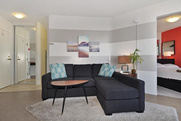 City View One Bedroom Suite- English Bay
