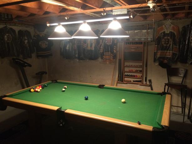 (ON HOLD)Dufferin 4 x 8 Slate Pool Table