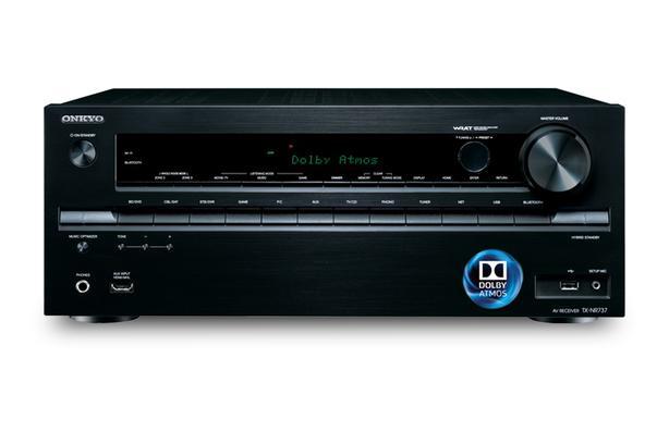 Hi End Home Theater Onkyo TX-NR737 7.2 Ch THX/Dolby Atmos Ready