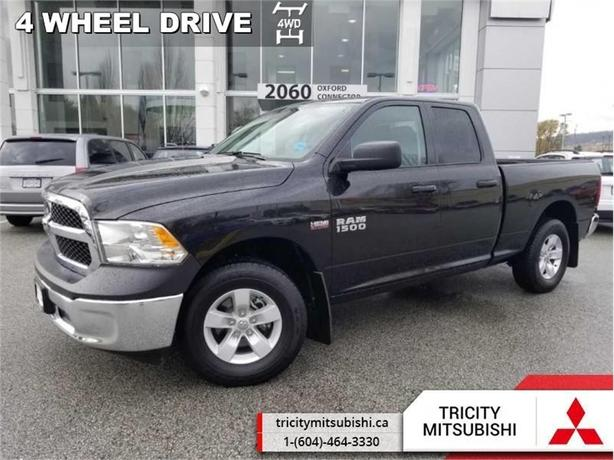 2017 Ram 1500 ST  HEMI V8-QUAD CAB-4X4-LOW KMS