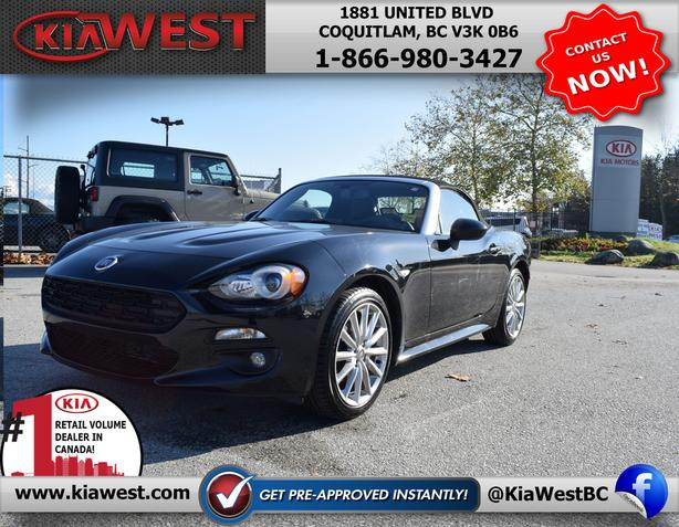 2017 Fiat 124 Spider Lusso RWD Convertible