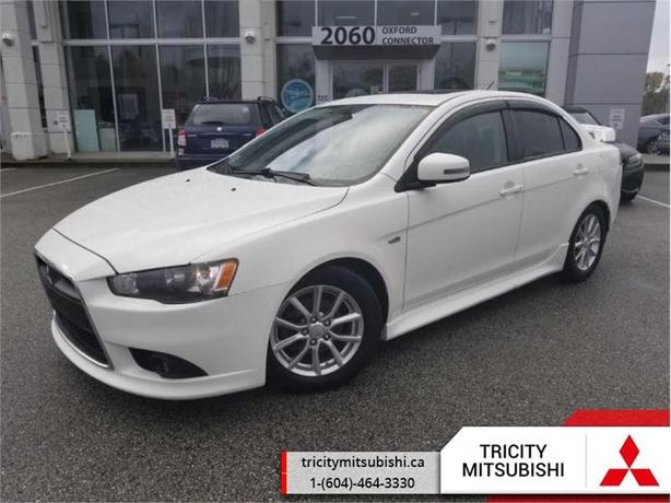 2015 Mitsubishi Lancer 4DR SDN CVT SE FWD  SUNROOF-HEATED SEATS