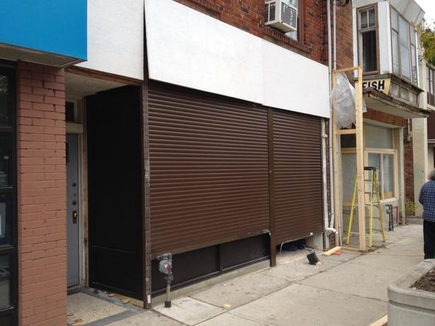 FREE: Quotes for roll up storefront doors (shutters)