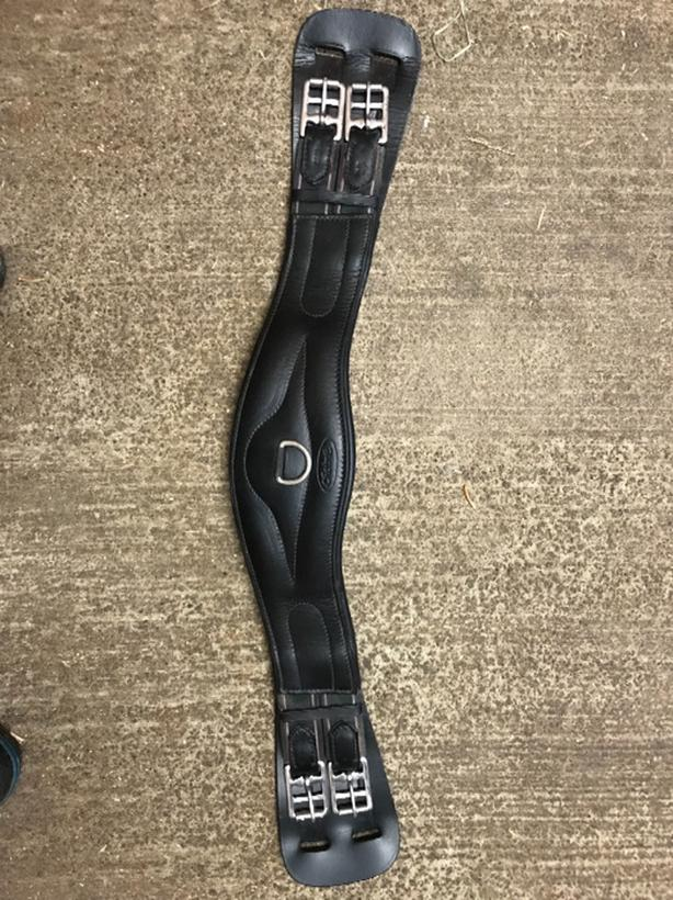"26"" Leather Dressage Girth"