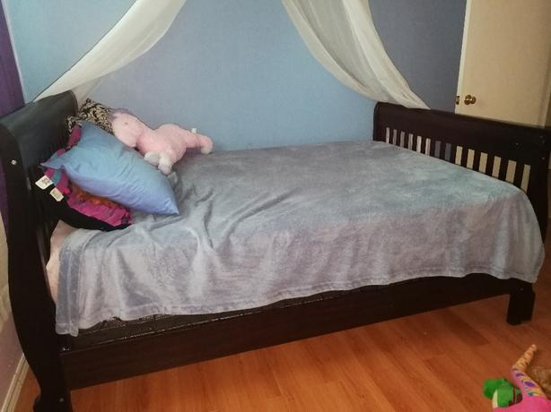 solid wood double bed frame for sale