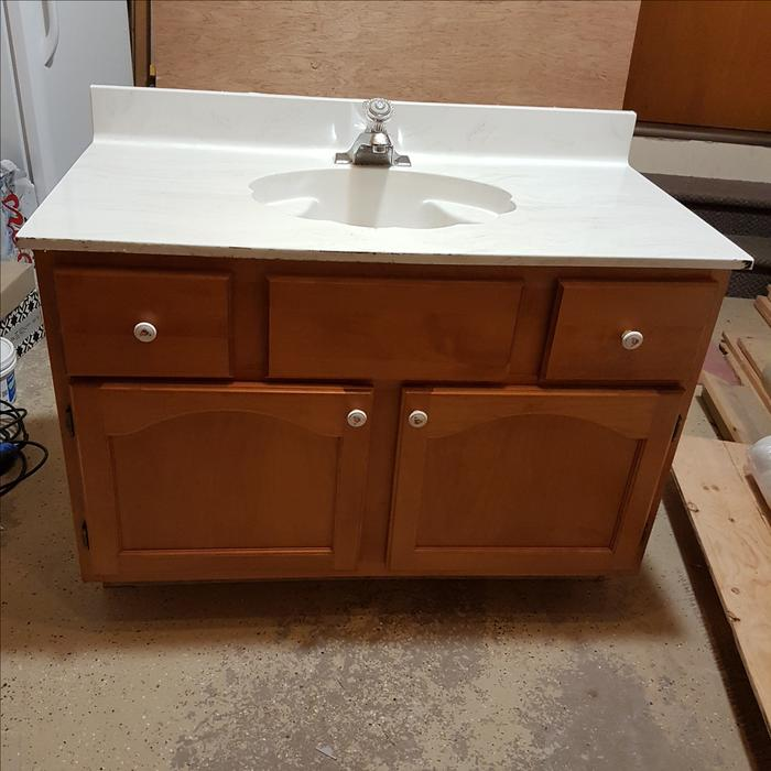 "Winnipeg Bathroom Vanities: ""FREE"" Bathroom Vanity With Top, Sink, And Faucet"