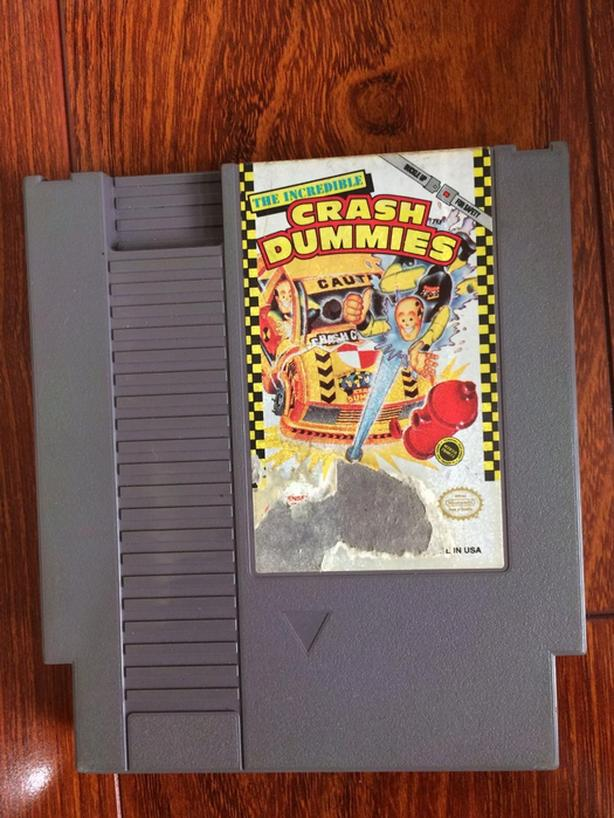 The Incredible Crash Dummies NES