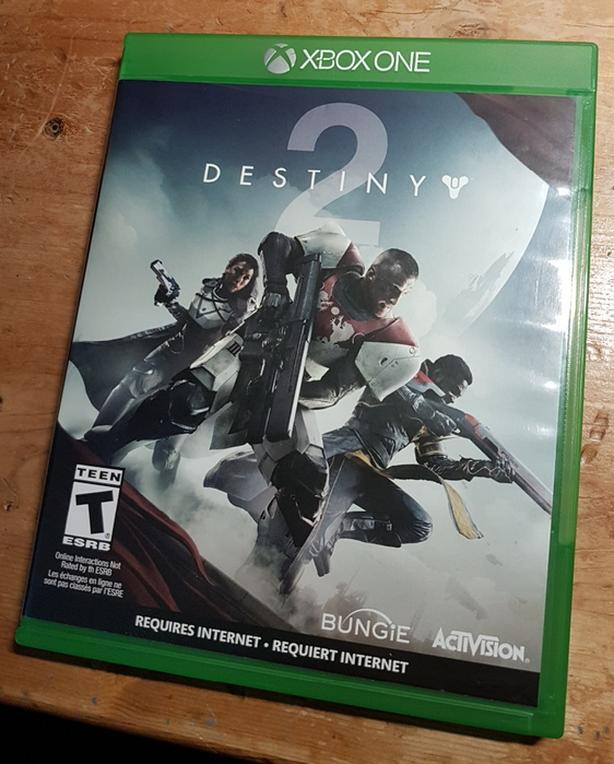 XBox One Destiny 2 Video Game