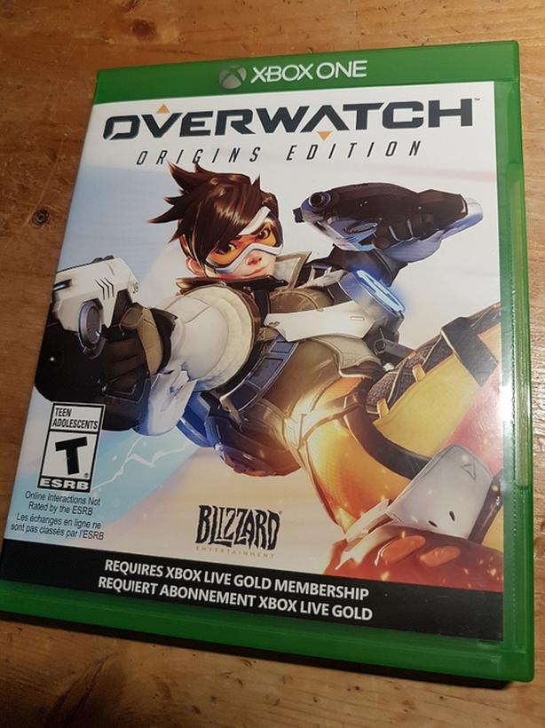 XBox One Overwatch Origins Edition Video Game