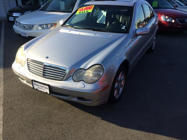 ON SALE NOW 2002 Mercedes C320 WILLIAMS COLWOOD ON SALE