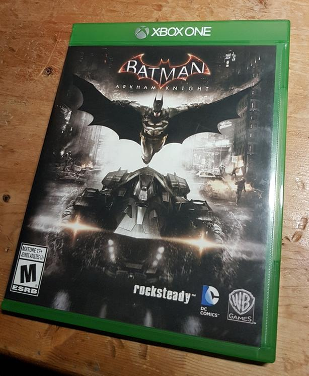 XBox One Batman Arkham Knight Video Game