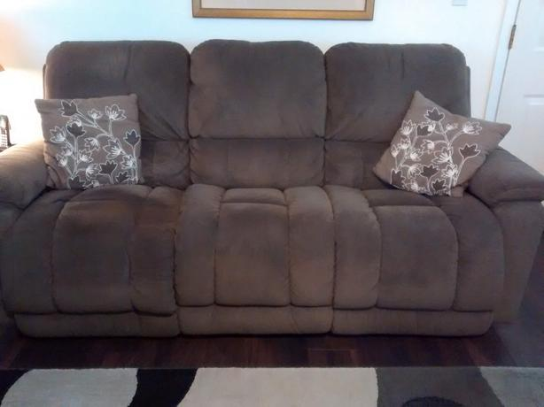 Two Lazyboy Recliner Couches for Sale