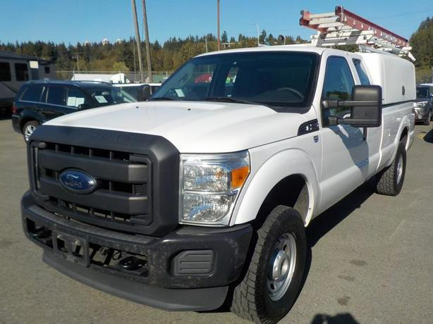 2012 Ford F-250 FX4 SuperCab Long Box 4WD with work canopy