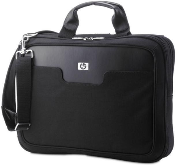 """Black HP 15.6"""" Laptop shoulder carrying case"""