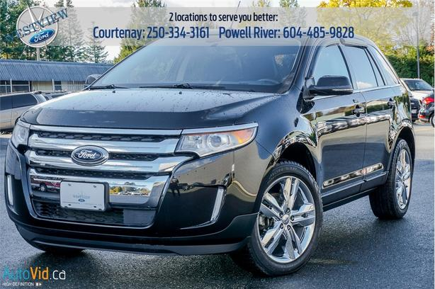 Ford Edge Limited Leather Seats Bluetooth