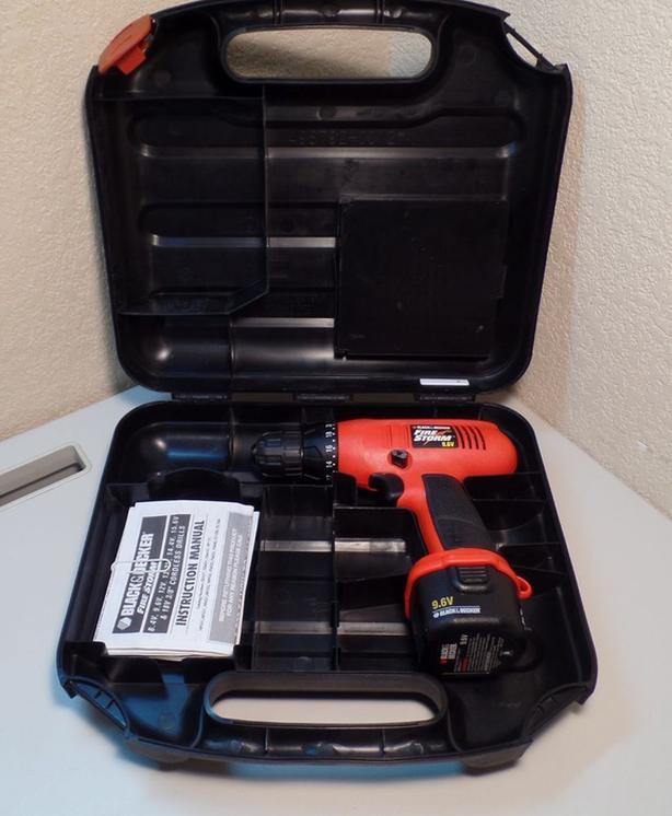 Black & Decker Firestorm 9.6 V cordless drill