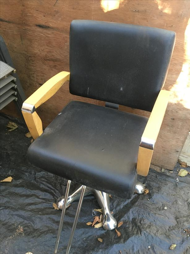 Barber Chair Black